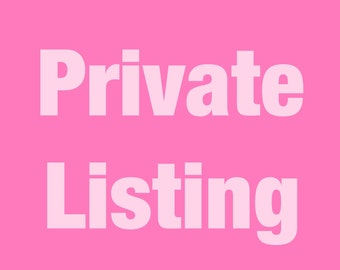 Private listing doc patch