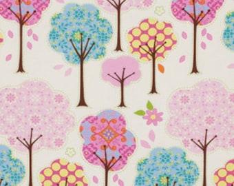 Pretty Little Things on Cream, Dena Designs, Free Spirit, Cotton Fabric