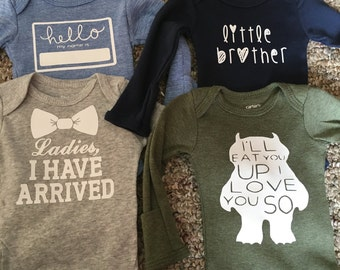 Baby Boy Onesies, Baby Clothes,