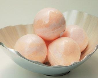Bath Bomb for Her - Grapefruit Bath Bomb - Bath Fizzy - Bath Bomb - Citrus bath bomb - Bath Fizzie - Spring Bridal Shower Favors - Spa Gift