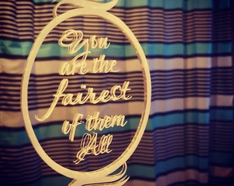 Fairest of them All Decal