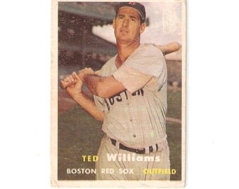 1957 Topps Ted Williams Good