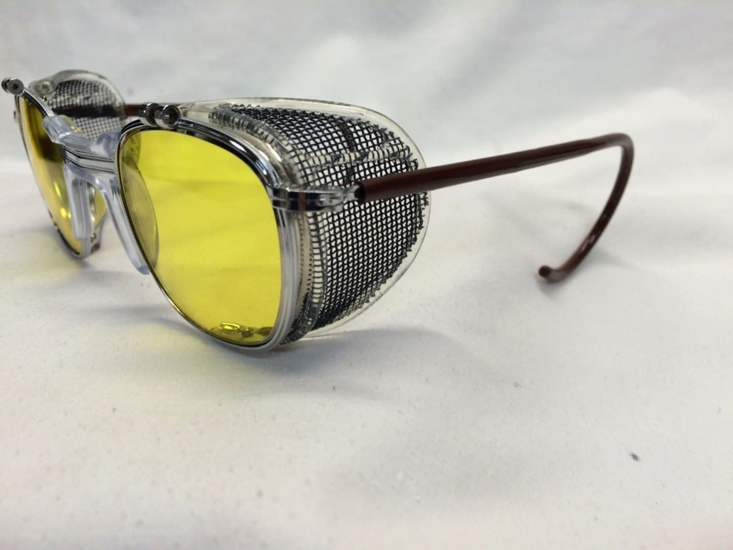true vintage american optical ao safety glasses dr holtzmann