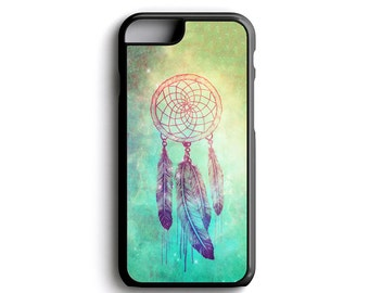 Nebula Dream Catcher For iPhone 4 iPhone 5 iPhone 5c iPhone 6 iPhone 6 Plus iPhone 7 and iPhone 7 Plus FREE Tempered Glass Screen Protector