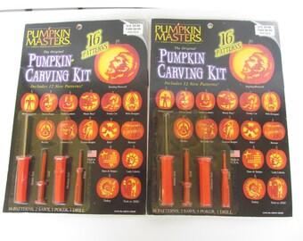 Pumpkin Carving Kits - set of 2 NIP