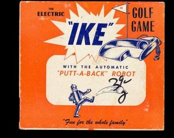 "1940s ""IKE"" Electric Golf Game"