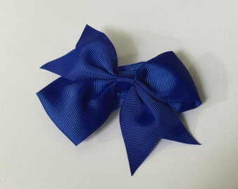 """4"""" Bow with Band - Royal"""