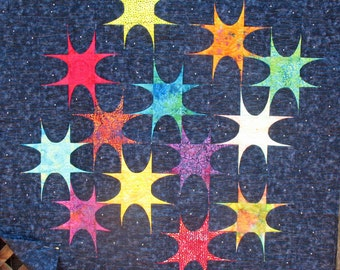 Ellipse Stars Wallhanging