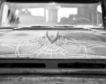 Chevrolet C-10 hood pinstripe photo print 11x14