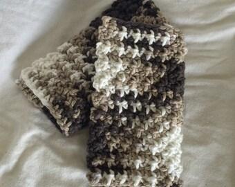 Crochet, cotton wash cloths