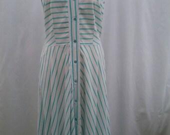 1950's cotton summer dress