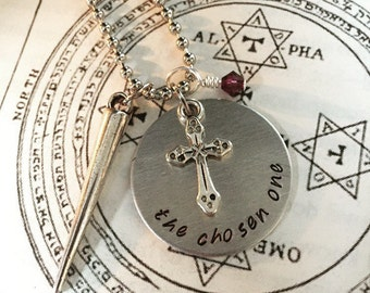 Buffy The Vampire Slayer Inspired Handmade Necklace