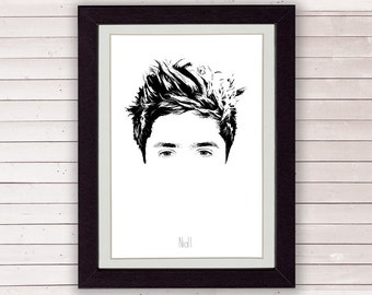 Niall Horan, One Direction, Poster, Art, Print