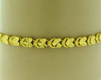 Vintage 22 K gold chain bracelet
