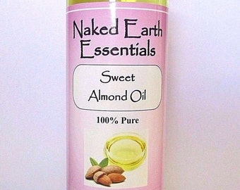 100% Pure Sweet Almond Oil Massage or Carrier Oil 16 oz.