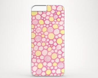 Pastel iPhone 6S case, Bubbles iPhone 6 case, Pink iPhone 5s case, Cute iPhone 6S Plus case