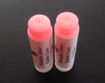 Bubble Gum Lip Balm, Bachelorete Party Favor, Natural Chapstick, Handmade Lip Balm, Tinted Lip Balm, Free Shipping (US Only)