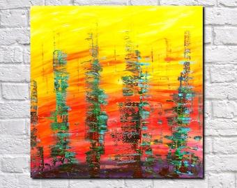 Abstract Print Modern Art Contemporary Abstract Architecture Art City Skyline Art Print James Lucas