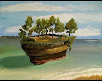 "Michigan Island (#5) 16""x20"""