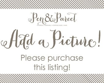 Add a picture to your invitations