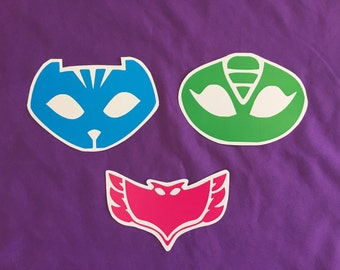PJ Masks Glossy Stickers (5-inch wide)
