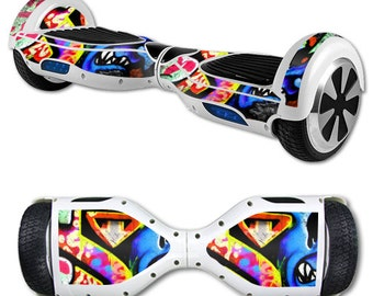 Skin Decal Wrap for Self Balancing Scooter Hoverboard unicycle Loud Graffiti