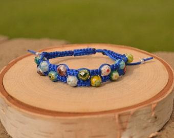 Double shamballa bracelet