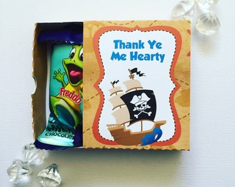 Pirate matchboxes
