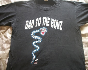 "WWF Steve Austin ""Bad to the Bonz"" t shirt"
