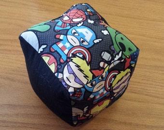 Marvel Kawaii Fabric Baby Block