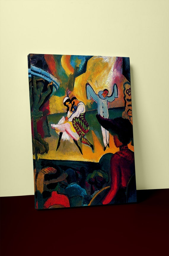 Russian Ballet by Macke | Mirror Wrapped HP Professional Canvas
