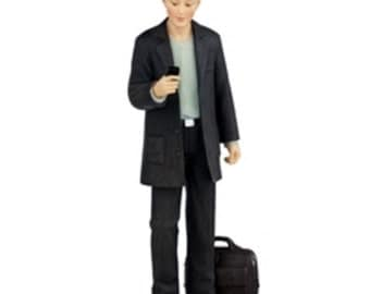 DOLLHOUSE MINIATURE dolls Andrew with Phone #HW3037