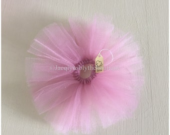 BLYTHE DOLL Pastel Pink Tulle Tutu. Suitable for Blythe, Pullip, Licca, Icy, and Jeccy Dolls.