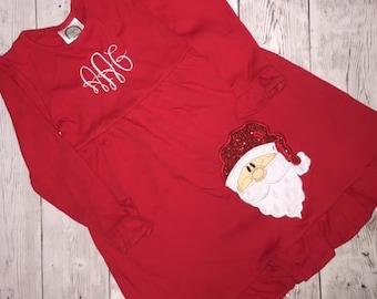 Monogram Christmas Dress