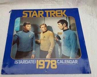 1978 STAR TREK, Stardate calendar