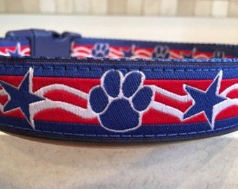 Patriot Paws Large Dog and Medium Dog Collar