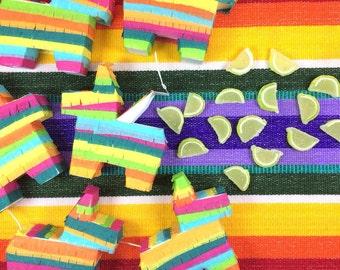 Mini Pinata, (6) Fiesta Wedding Favors, Cinco de Mayo, Mexican Welcome Bag, Fiesta Party Favor, Fiesta Decoration, Fiesta Birthday, Set of 6