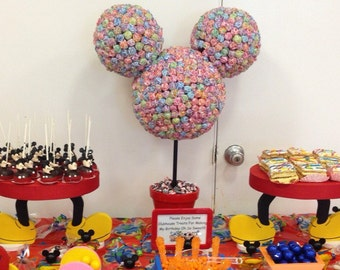Mickey Mouse cupcake/cake pop stand