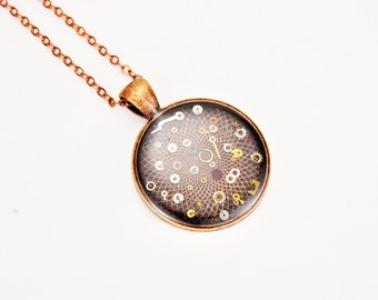 Steampunk necklace - Watch gear necklace - Gear necklace