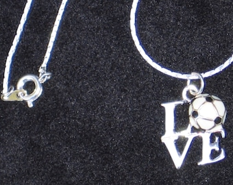 Soccer Jewelry / Girls Soccer Necklace / Girls Soccer Gifts