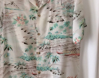 hawaiian mens blouse
