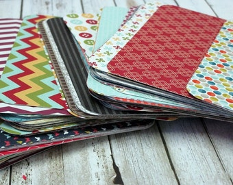 25 Assorted Project Life Journalling Cards