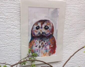 Tawny - Original Fine Art - by Sketchbuck
