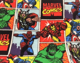 """Marvel Comics - Small Weighted Blanket 20""""x30"""" flannel/minky Machine Washable"""