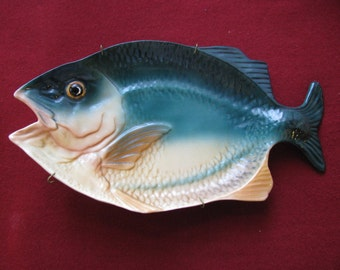Ceramic Fish, Made in the USA, Vintage