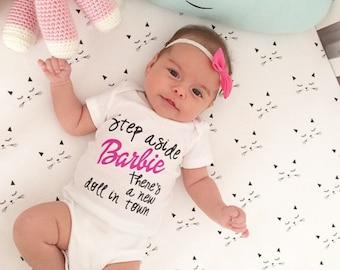 Cute Girly Barbie onesie