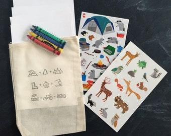 Bend Oregon Equation Kid's Activity Pack