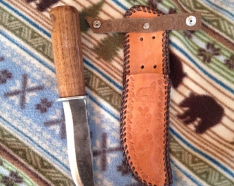 Upcycled Hickory Lawnmower Knife