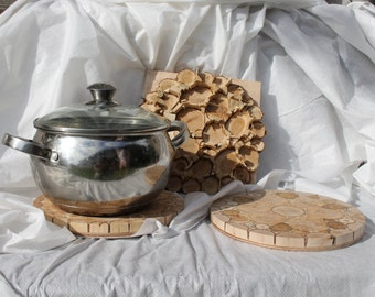Pot Coasters 1pcs, 3-Size