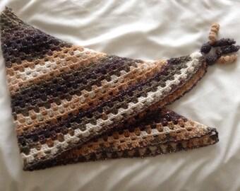 Crochet Neckerchief Scarf